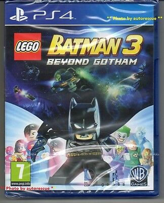 LEGO Batman 3 Beyond Gotham  'New & Sealed'  *PS4(Four)* for sale  Shipping to Nigeria