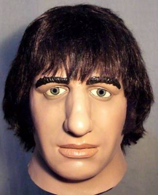 RINGO STARR LATEX MASK -- Costume Prop The Beatles Fab Four Cosplay Halloween !!