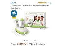 Breastfeeding bundle (Double Breast pump + Lansinoh kit with cream, bags, pads) + free stuff