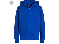 Brand new Ralph Lauren zip up hoodie