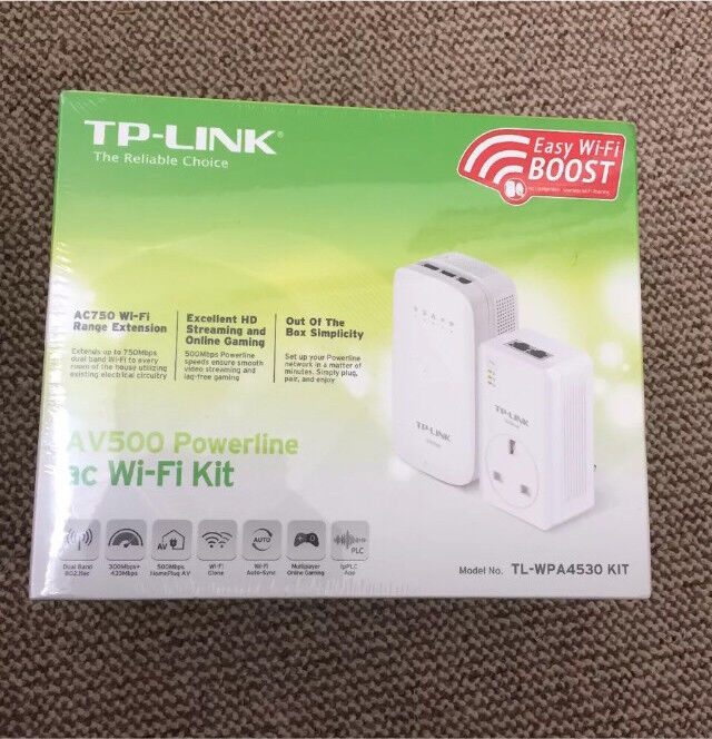 Bargain Tp Link Av500 Wifi Extender Free Delivery In Old Trafford