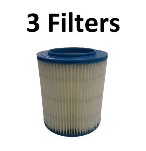 3 Filter For Craftsman 17816 Wet Dry Vac Red Stripe Fine ...