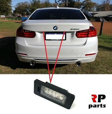 FOR BMW 3 SERIES F30 F31 F34 F35 11-17 REAR NUMBER PLATE LIGHT LED LEFT OR RIGHT