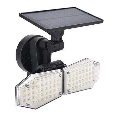 Luz Solar con sensor de movimiento Exterior 78 LED Foco carga solar...