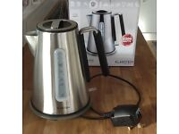 Klarstein cordless electric kettle, as new, boxed