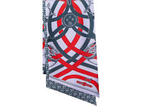 Scarf New HERMES MAXI TWILLY CAVALCADOUR PARME/ROUGE/MARINE