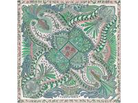 Hermes Scarf Green