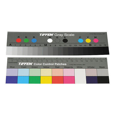 Tiffen (Q-13 Small) Color Separation Guide with Grey Scale 21 x 7cm