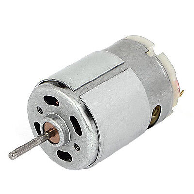 7100 Rpm Dc 9v 1.5a 61.2g.cm Micro Motor For Cars Diy Hobbies Silver X5z2