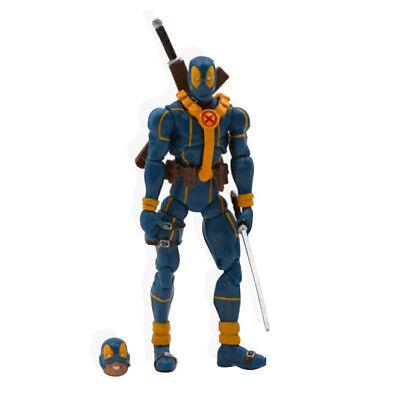 New Marvel Universe 3.75inch Blue Deadpool loose figure X-Men Super Hero #F3