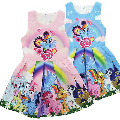 2018 Girls My Little Pony Princess Summer Party Holiday Birthday Tutu - My Little Pony Tutu