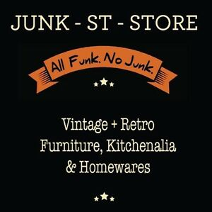 JUNK-ST-STORE * ALL FUNK, NO JUNK!  vintage store L'ton Tas. Invermay Launceston Area Preview
