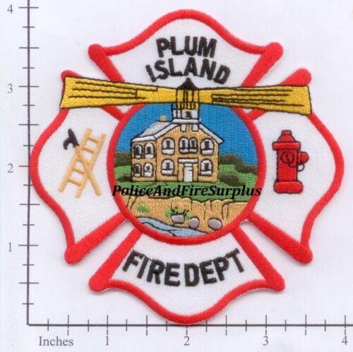New York - Plum Island Fire Dept Patch