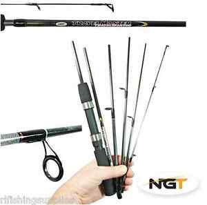 ngt spin master travel fishing rod