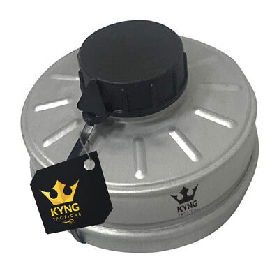 NEW Premium NATO Sealed NBC 40mm Gas Mask Filter Fits Israeli Gas Mask US Seller