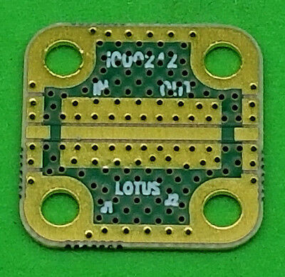 Develop Pcb Grounded Coplanar Waveguide 0.5625x0.5625x0.02 32mil Trace