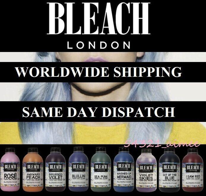 Bleach London Super Cool Colours Semi Permanent Hair Dye