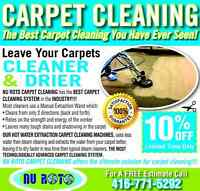 The Best Carpet Cleaning in the Industry