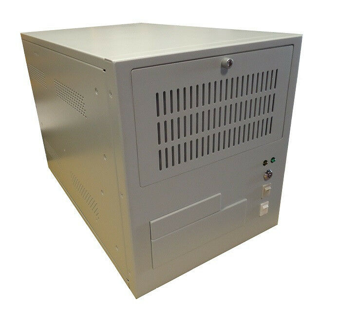 Wall mount chassis For Micro-ATX MB (new), Beige (light gray) Color