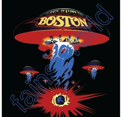 BOSTON BAND FLAG POSTER 4' X 4'