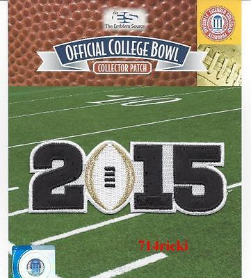 2015 College Football National Championship Game Patch Ohio State vs