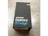 BRAND NEW Sealed Samsung Galaxy S7 Edge Gold Unlocked 32g