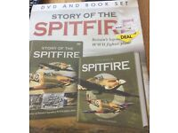 Story of the Spitfire DVD and Book also Concord Book/DVD