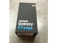 Unopened box s7 edge