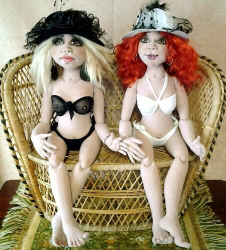 """Cloth Art Doll Pattern """"All About Eve"""" By Sheryl D'Ath"""