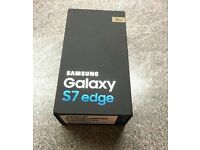 SAMSUNG GALAXY S7 GOLD Brand NEW Two Year Samsunge Warranty SHOP RECEIPT