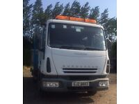 IVECO EUROCARGO BEAVERTAIL ,ONE OWNER,NO VAT
