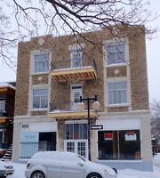 Commercial space/ storefront for rent in heritage building