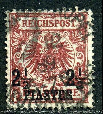 DP Türkei Mi 10a °  Constantinopel 1   gepr.   550,-