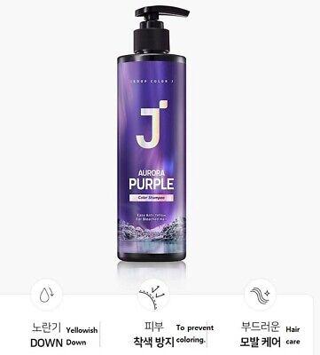 JSOOP color j aurora purple color shampoo / K-Beauty