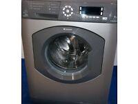 Silver hotpoint washing machine 9kg