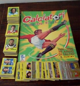 Mancoliste album figurine calciatori 1996/97 da recupero a soli €0,20 - Italia - Mancoliste album figurine calciatori 1996/97 da recupero a soli €0,20 - Italia