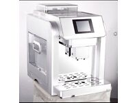 BEANS TO CUP FULLY AUTOMATIC COFFEE MACHINE ME 717 COMMERCIAL USE AND HOUSE GOOD FOR BOTH PURPOSES