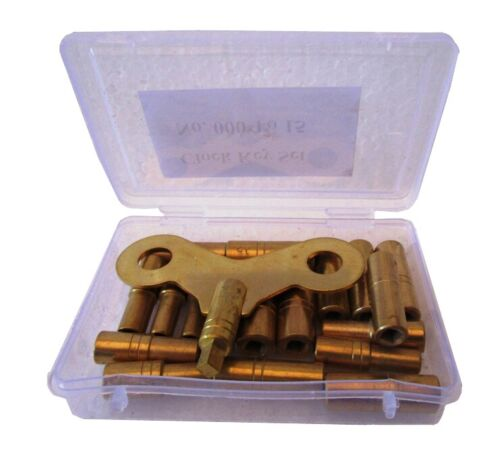 MASTER Set for all CLOCK Key - Total 18 type of Key Set in BOX (5020)