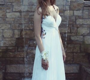 La Femme Beautiful Embroidered Dress