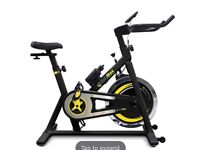 Spinning Bike with LCD screen.