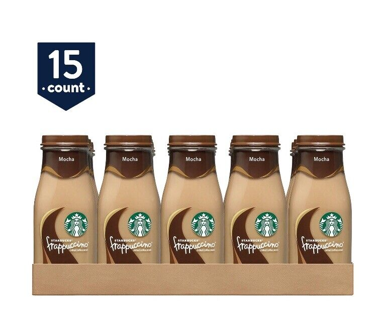 Starbucks Frappuccino Coffee Drink, Mocha (9.5 oz., 15 pk.)