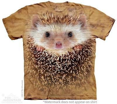 BIG FACE HEDGEHOG CHILD T-SHIRT THE MOUNTAIN - Hedgehog Kids