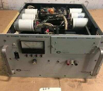 California Instruments 751th Programmable Variable Ac Power Supply 750kva 3000w