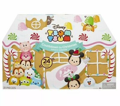Tsum Tsum Disney First Ever Countdown to Christmas Advent Calendar [2016]