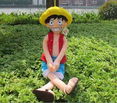 2018 Toys For Kids Creative Big Japan Unique Monkey D Luffy Plush Doll Size 32