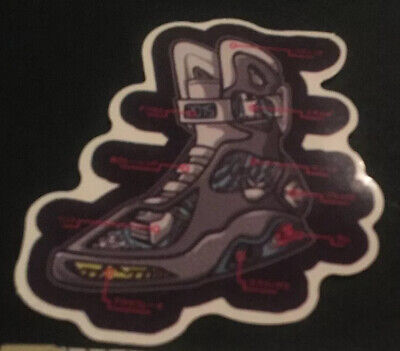 Back To The Future Shoes Replica (Back To The Future Marty McFlys Shoe Sticker Bttf)