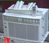 """Air conditioner climatiseur 6000 btu numérique largeur 18½"""" AC"""