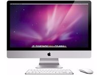 """iMac 27"""" (Late 2009) without front glass panel"""