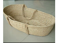 Moses baby carrying basket