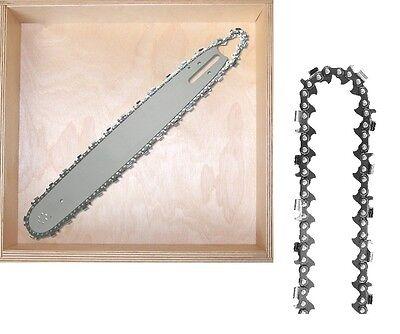 """40cm Schwert guide bar 325/"""" 2 Ketten chain für Stihl MS 261 MS261"""